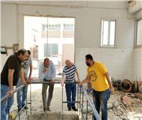 رئيس شركة مياه الشرب بقنا يتفقد المشروعات الجديدة في قوص