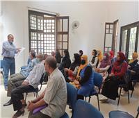 ندوات ومحاضرات في الأسبوع الثقافي بمركز البداري
