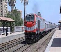 السكة الحديد: 40 دقيقة تأخير على خطوط قطارات الصعيد