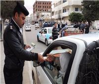 خلال 24 ساعة.. تحرير 6897 مخالفة مرورية على الطرق السريعة