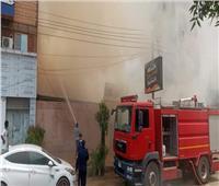 السيطرة على حريق بأحد الكافيهات بكورنيش ادفو بأسوان