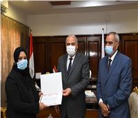 محافظ قنا يكرم أسرة مواطن لدوره في دعم ذوي الاحتياجات الخاصة