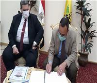 بنسبة نجاح 82.1٪ محافظ شمال سيناء يعتمد نتيجة الشهادة الإعدادية