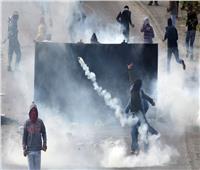 إصابات بالاختناق خلال مواجهات بين فلسطينيين والاحتلال غرب رام الله