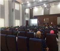 الضرائب تنظم ندوة عن الفاتورة الإلكترونية لمستثمري مدينة السادات