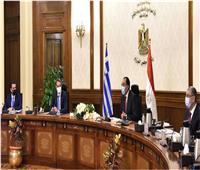 رئيس الوزراء: مصر حريصة على الارتقاء بمستوى التعاون مع اليونان