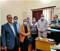 استئناف العمل بلجنة السيارات المجهزة بالمجلس الطبي العام بـ«صحة سوهاج»