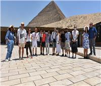 مهرجان الإسماعيلية ينظم رحلة للمشاركين الأجانب إلى القاهرة   صور