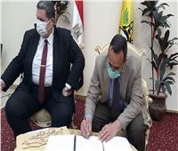 اتصال هاتفي من محافظ شمال سيناء لتهنئة أوائل الإعدادية