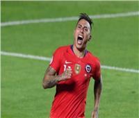كوبا أمريكا   «فارجاس» يمنح هدف تقدم تشيلي على أوروجواي في الشوط الأول