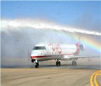 بعد توقف 12 عاماً..مطار طابا الدولي يستقبل أول الرحلات الجوية من الأردن| صور