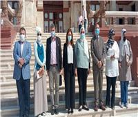 نائب محافظ القاهرة ووفد البرنامج الرئاسي يتفقدان «قصر البارون»