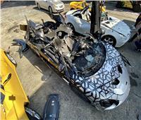 أبرزهم «مرسيدس وبورش».. تدمير سيارات بملايين الدولارات لهذا السبب | فيديو