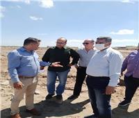 مسئولو «الإسكان» في زيارة ميدانية إلى مدينة غرب بورسعيد