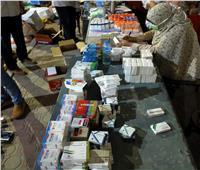 ضبط كميات كبيرة من الأدوية منتهية الصلاحية بإيتاي البارود