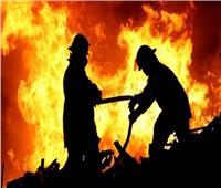 إصابة شخص في حريق مخبز بلدي بأسيوط