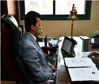 أشرف صبحي يفتتح الاجتماع الأول لوزراء الشباب والرياضة في إقليم الكوميسا