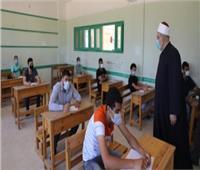 3436 طالب وطالبة يؤدون امتحانات مادة النحوبأزهر المنيا