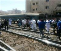 الصحة: إصابة ٤٠ مواطناً في حادث قطار الإسكندرية