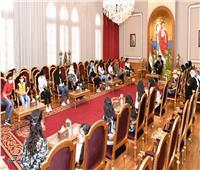 البابا تواضروس يلتقي أعضاء مبادرة «التضامن» للدمج