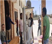 خدمات طبية وعلاجية لأهالي قرية الظهير بسيناء