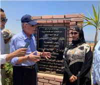 محافظ جنوب سيناء يفتتح المرحلة الأولى للممشى السياحي بنويبع