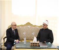 أمين «البحوث الإسلامية» يبحث مع سفير أوزباكستان التعاون العلمي