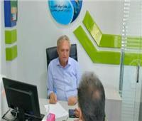 رئيس مياه مطروح يتفقد مراكز خدمة العملاء بالعلمين