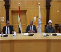 المحرصاوي يشيد بجهود المكتب الفني في رفع تصنيف جامعة الأزهر محليا ودوليا