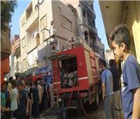 حريق بمكمرة فحم في مركز ميت غمر بمحافظة الدقهلية
