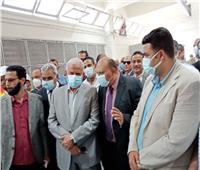 افتتاح محطة الصرف الصحي بزرب في السويس بعد التطوير