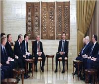 بشار الأسد يلتقي نائب رئيس الحكومة الروسية