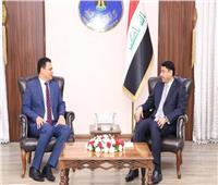الأمين العام لمجلس الوزراء العراقى يستقبل السفير المصري الجديد