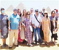 «ياريلوفا» تشيد بالحضارة المصرية