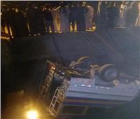 إصابة 5 أشخاص إثر إنقلاب سيارة بترعة بإدفو
