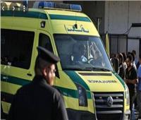 إصابة أمين شرطة إثر إنقلاب موتوسيكل بمدخل إيتاى البارودبالطريق الزراعي
