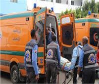 مصرع وإصابة 4 أشخاص في تصادم مروع بطريق البوصيلي رشيد