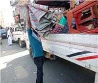 رفع 294 حالة إشغال طريق في 3 مراكز بالبحيرة