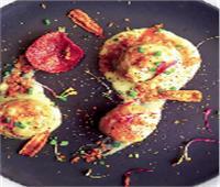 كرات لحم الدجاج بصوص الرانش