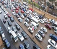 تعرف على أماكن الكثافات المرورية بشوارع الجيزة