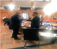 سامح شكري يلتقي رئيس الحكومة الليبية بمؤتمر برلين 2