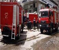 10 سيارات إطفاء شاركت في السيطرة على حريق مبنى أرشيف مجلس الدولة