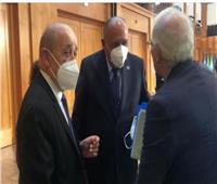 شكرى ونظيره التونسى يبحثان القضايا محل الاهتمام المشترك