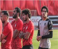 مران الأهلي| محمد هاني يشارك في المران كاملا