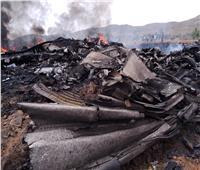 كانت «محملة بالذخائر والمتفجرات».. إسقاط طائرة نقل عسكري للجيش الإثيوبي