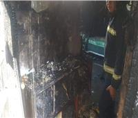 إخماد حريق أعلى عقار مكون من 6 طوابق بمنطقة الظاهر