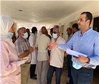 قنا :«الصحة» تقييم الخدمات الطبية بقريتى أبو حزام وحمره دوم