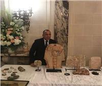 تفاصيل استرداد 114 قطعة أثرية مهربة لفرنسا