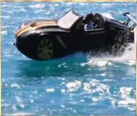 أول سيارة مصرية تسير على الماء بمكونات محلية تبهر العالم | فيديو