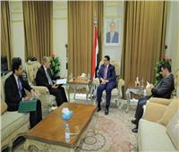 السفير المصري في صنعاء يلتقي وزير الخارجية وشئون المُغتربين اليمني | صور